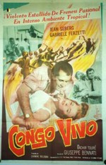 Congo vivo (1962) afişi