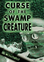 Curse of the Swamp Creature (1966) afişi