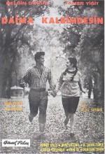 Daima Kalbimdesin (1962) afişi