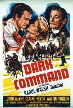 Dark Command (1940) afişi