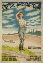 De Bør Forelske Dem (1935) afişi