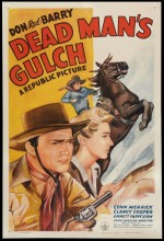Dead Man's Gulch (1943) afişi