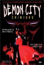 Demon City Shinjuku (1988) afişi