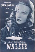 Der Himmlische Walzer (1949) afişi