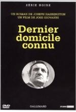 Dernier Domicile Connu (1970) afişi