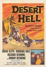 Desert Hell (1958) afişi