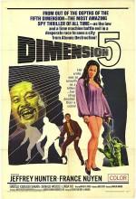 Dimension 5 (1966) afişi