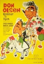 Don Olsen Kommer Til Byen (1964) afişi