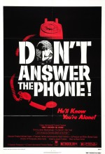 Don´t Answer The Phone! (1980) afişi