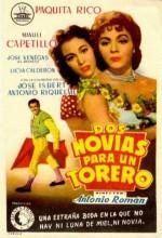 Dos Novias Para Un Torero (1956) afişi