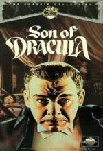 Dracula'nın Oğlu (1943) afişi
