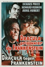 Drakula Frankenştayn'a Karşı (1972) afişi