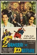 Due Samurai Per Cento Geishe (1962) afişi