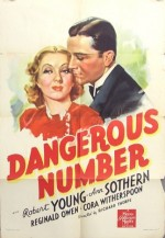 Dangerous Number (1937) afişi