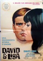 David ve Lisa (1962) afişi