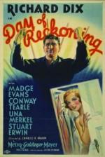 Day of Reckoning (1933) afişi
