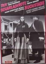 Der scharlachrote Buchstabe (1973) afişi