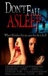 Don't Fall Asleep (2010) afişi