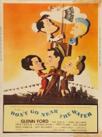 Don't Go Near the Water (1957) afişi