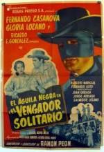 El Aguila Negra En 'el Vengador Solitario' (1954) afişi