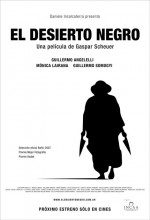 El Desierto Negro (2007) afişi