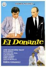 El Donante (1985) afişi