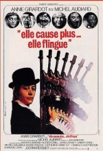 Elle Cause Plus, Elle Flingue (1972) afişi