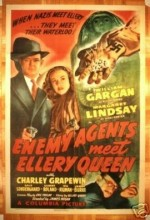 Enemy Agents Meet Ellery Queen (1942) afişi