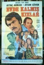 Evde Kalmış Kızlar (1975) afişi