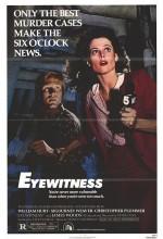 Eyewitness (1981) afişi