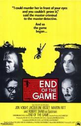 End Of The Game (1975) afişi