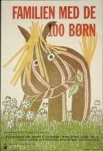 Familien Med De 100 Børn (1972) afişi