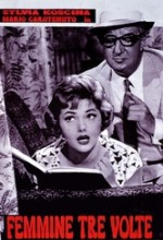 Femmine Tre Volte (1957) afişi