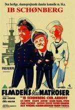 Flådens Blå Matroser (1937) afişi