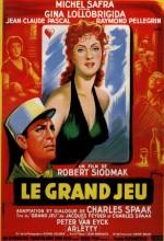 Le grand jeu (1954) afişi
