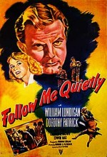 Follow Me Quietly (1949) afişi