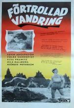 Förtrollad Vandring (1954) afişi