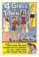 Four Girls In Town (1957) afişi