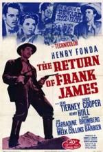 Frank James'in Dönüşü (1940) afişi