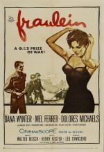 Fräulein (ı) (1958) afişi
