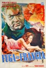 Fuga In Francia (1949) afişi