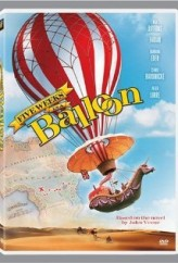 Five Weeks in a Balloon (1962) afişi