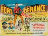 Fort Defiance (1951) afişi