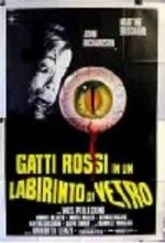Gatti Rossi in Un Labirinto Di Vetro (1975) afişi
