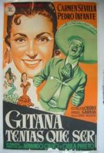 Gitana Tenías Que Ser (1953) afişi