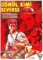 Gönül Kimi Severse (1959) afişi