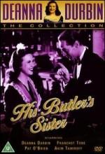 His Butler's Sister (1943) afişi