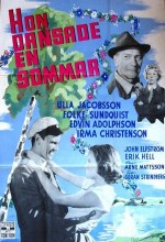 Hon Dansade En Sommar (1951) afişi