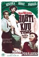 Huhtikuu Tulee (1953) afişi