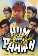 Hum Paanch (1980) afişi